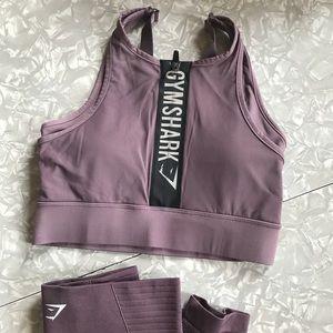 382d6c75a7 Gymshark Intimates   Sleepwear - NWT Gymshark Elevate Sports Bra Top in  Purple